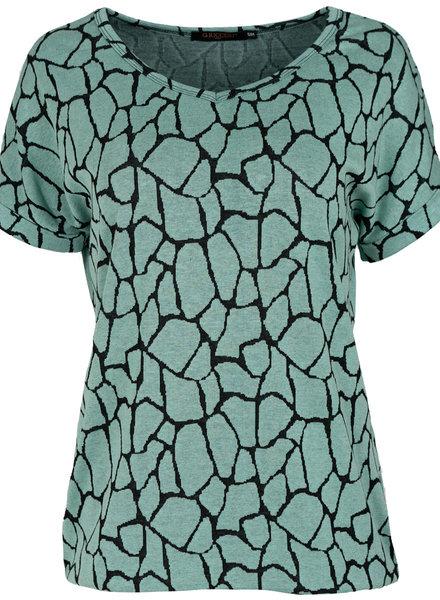 Gemma Ricceri Shirt mintgroen Babs