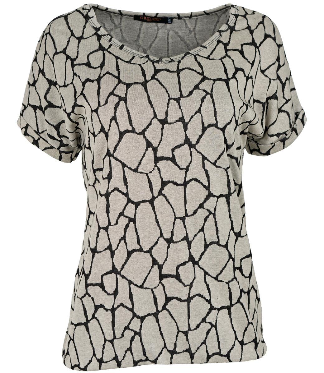 Gemma Ricceri Shirt lichtgrijs Babs