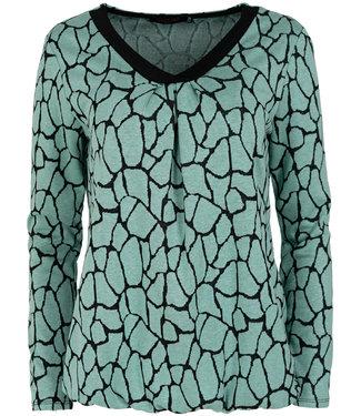 Gemma Ricceri Shirt mintgroen Lina