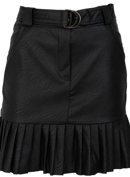 Gemma Ricceri Rok leather look zwart Heidy