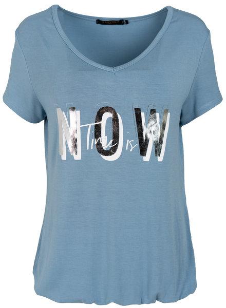 Gemma Ricceri Shirt lichtblauw Now