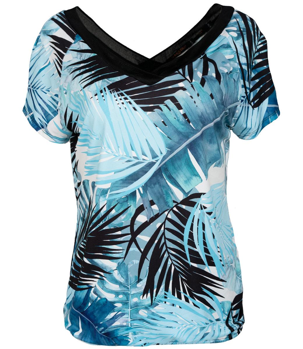 Gemma Ricceri Shirt blauw/zwart Florina