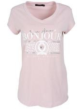 Gemma Ricceri Shirt roze Bonjour