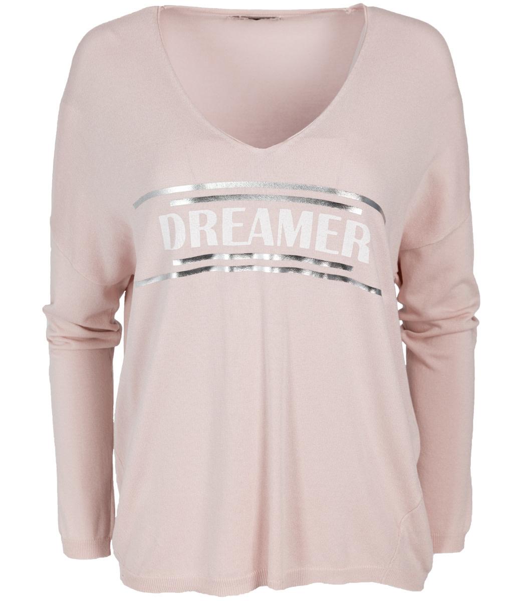 Wannahavesfashion Trui roze Dreamer