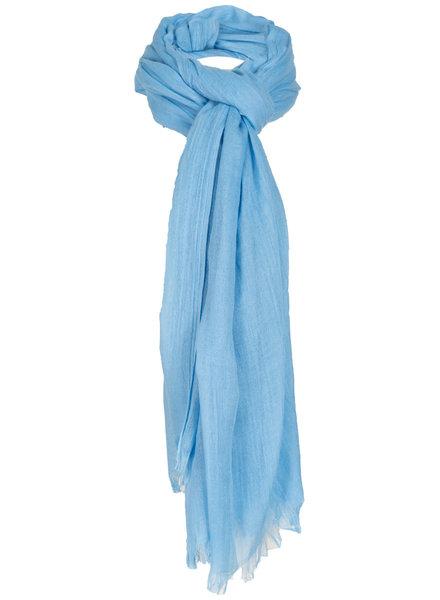 Wannahavesfashion Sjaal lichtblauw basic Lot