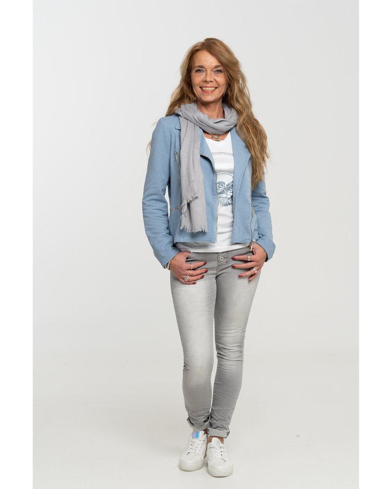 Gemma Ricceri Shirt wit/blauw Adelaar