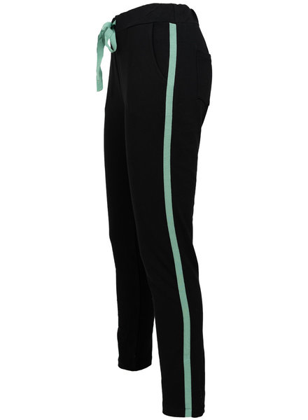 Gemma Ricceri Joggingbroek zwart/groen Lua