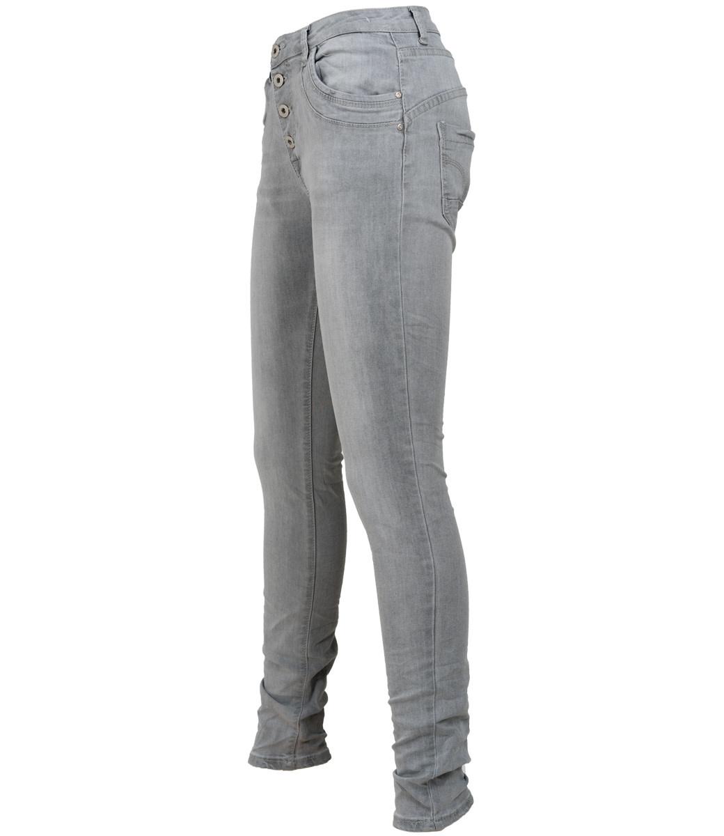 place du Jour Jog jeans grijs Katja