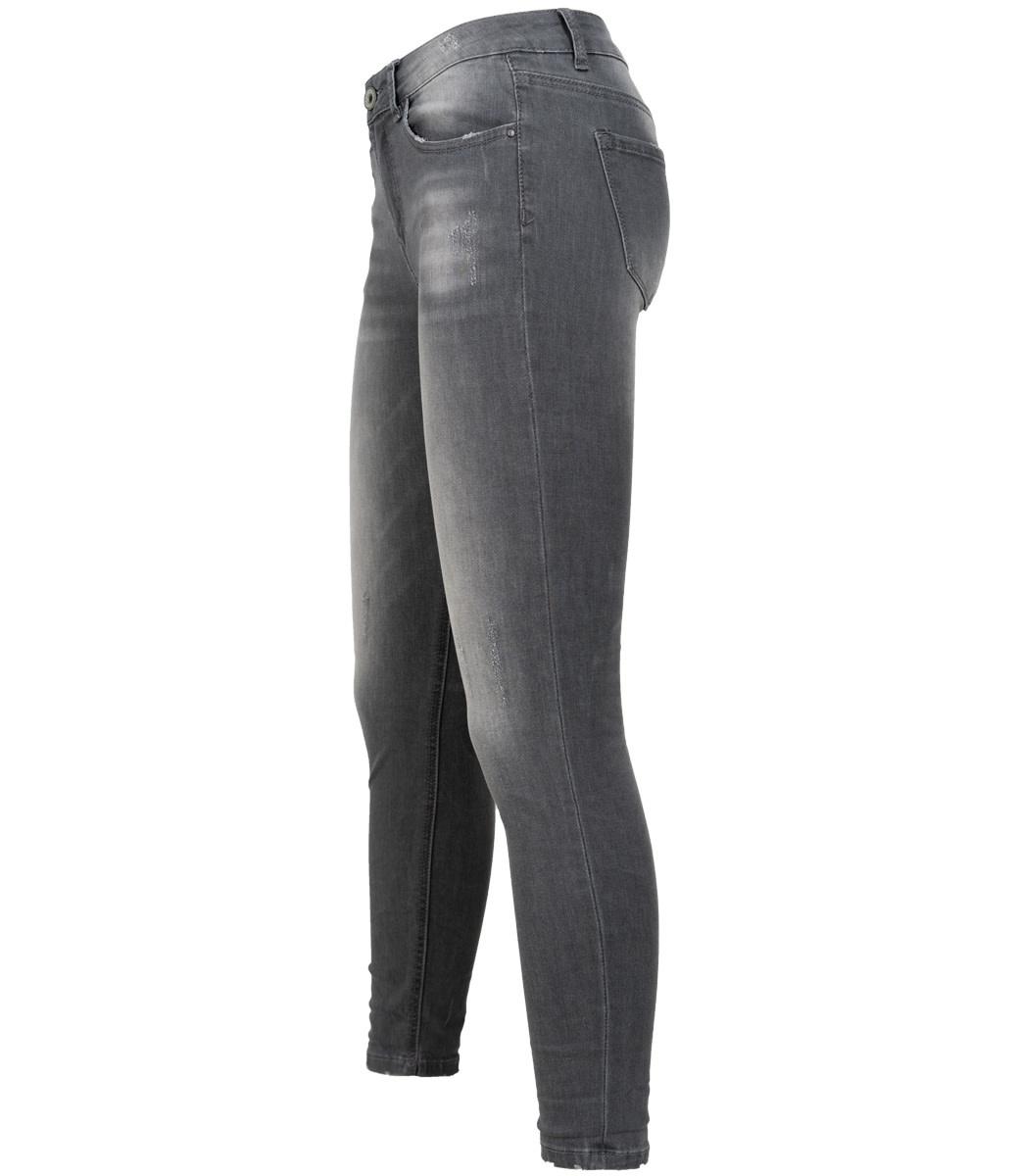 Wannahavesfashion Jog jeans grijs Cindy