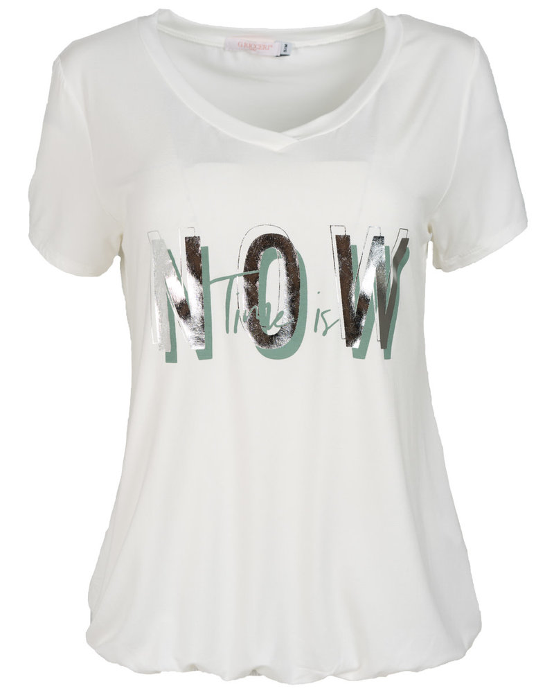 Gemma Ricceri Shirt wit Now