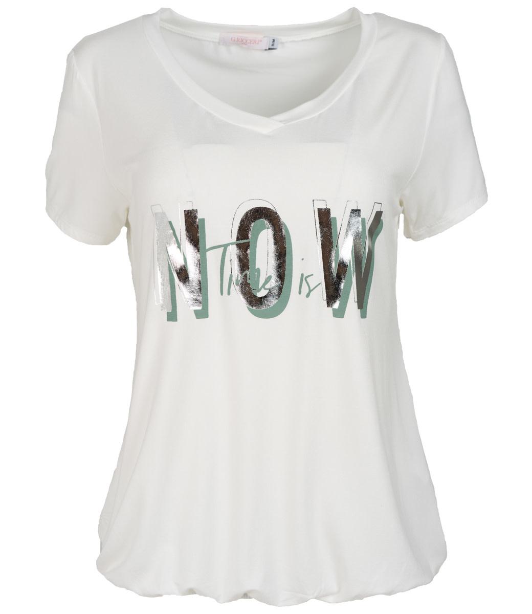 Gemma Ricceri Shirt wit Now