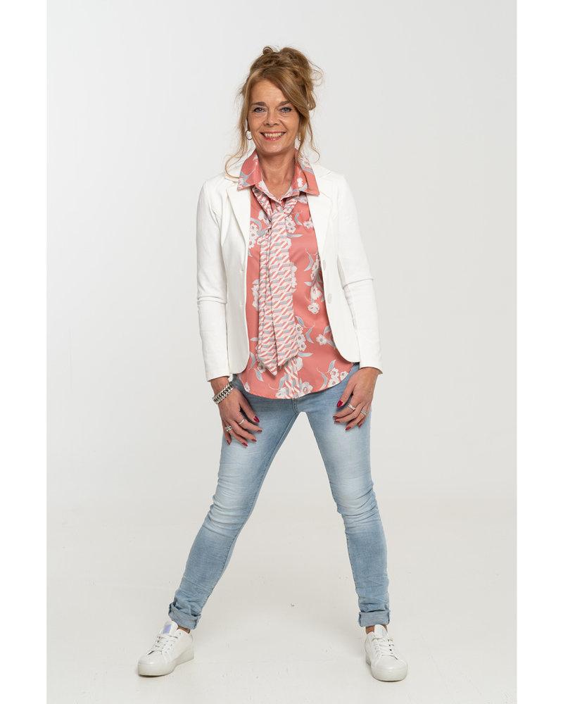 Gemma Ricceri Blouse zalm/roze Wanda