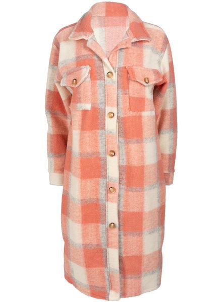 Wannahavesfashion Vest blouse roze Mody