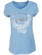Gemma Ricceri Shirt blauw/wit Adelaar