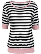 Gemma Ricceri Shirt roze/zwart Luna