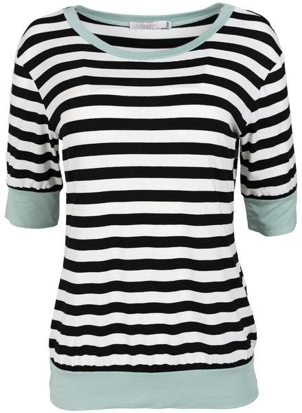 Gemma Ricceri Shirt mintgroen/zwart Luna