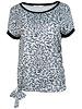 Gemma Ricceri Shirt jeansblauw Robin