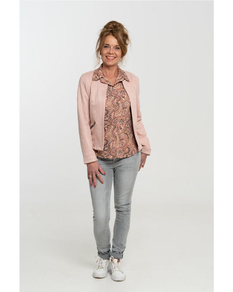 Gemma Ricceri Blouse roze Tess
