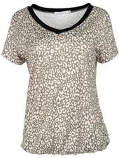 Gemma Ricceri Shirt groen panter