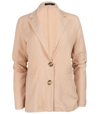 Rebelz Collection Blazer linnen beige