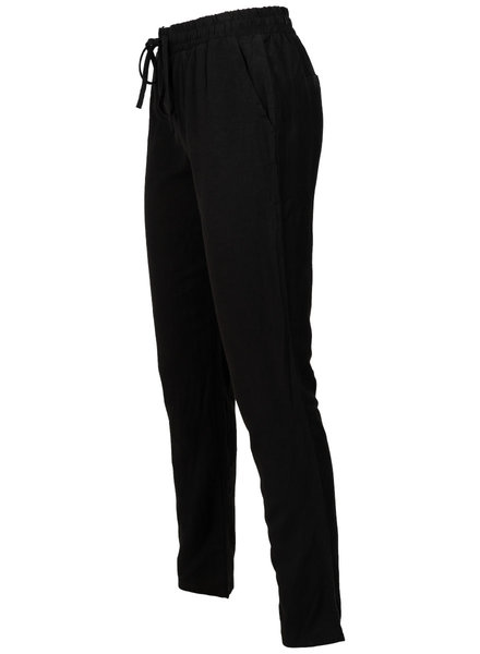 Rebelz Collection Broek linnen zwart
