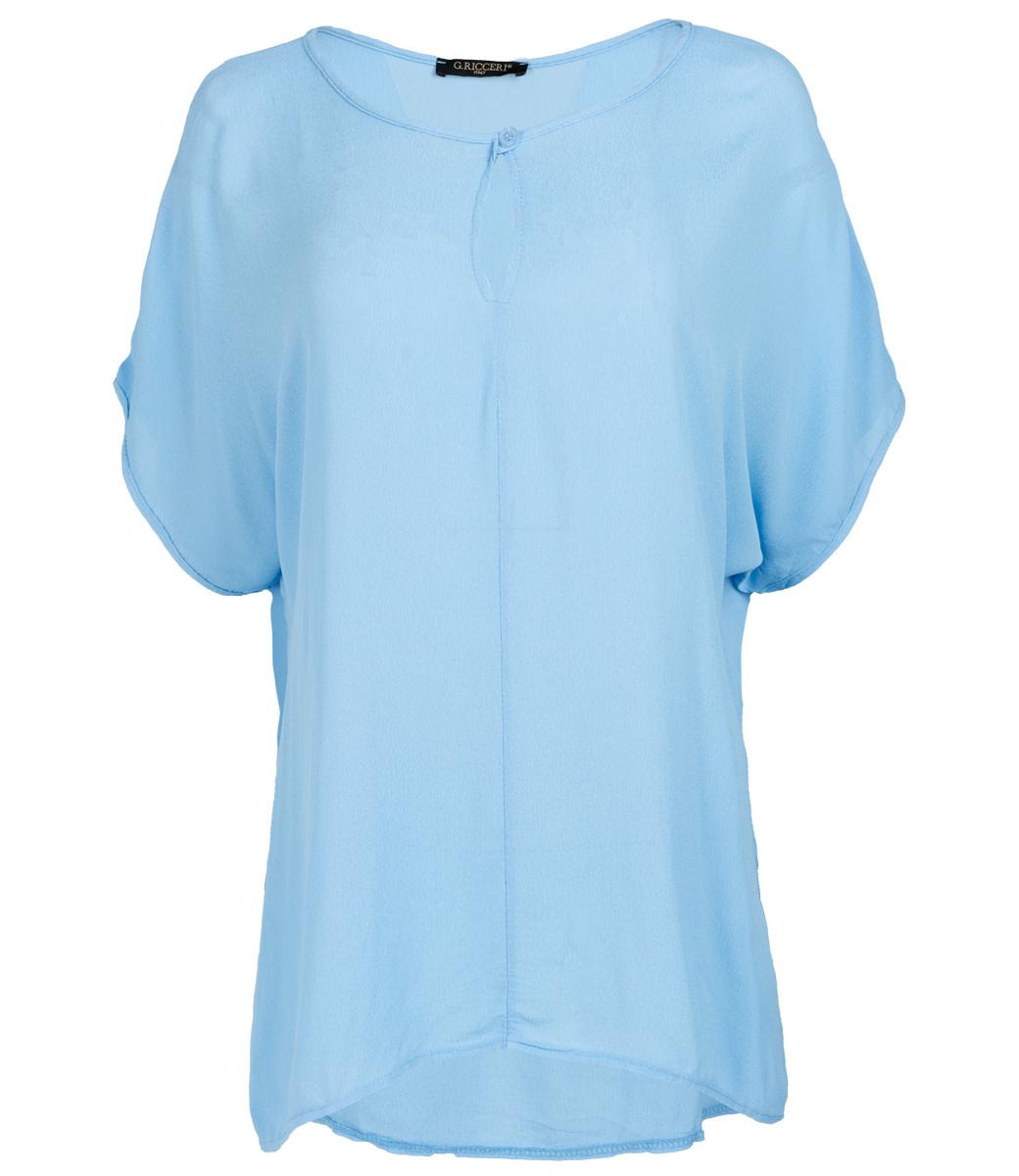 Gemma Ricceri Shirt jeansblauw Klara