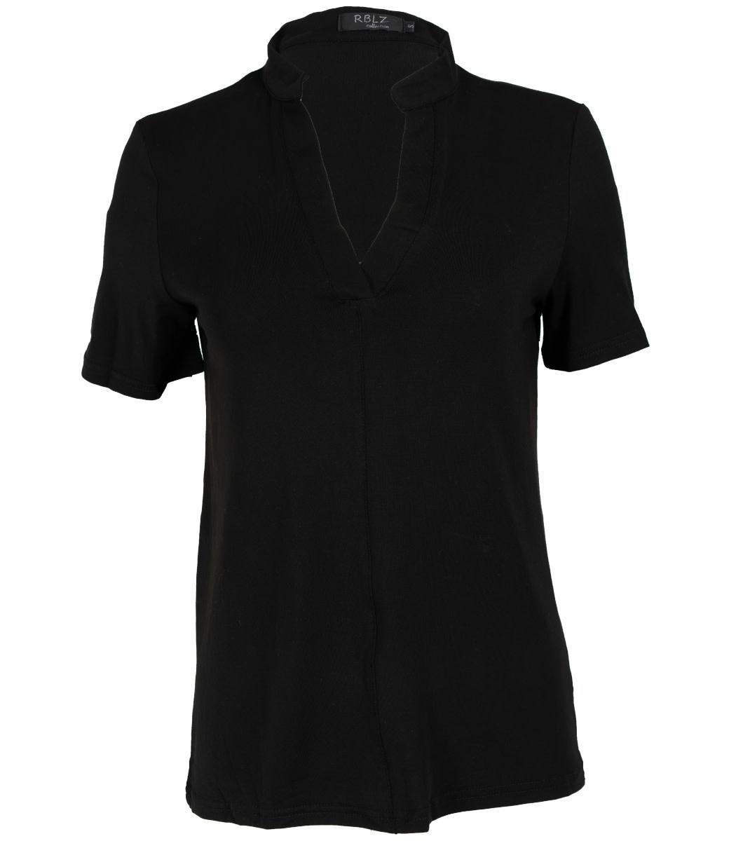 Rebelz Collection Shirt zwart Aniek
