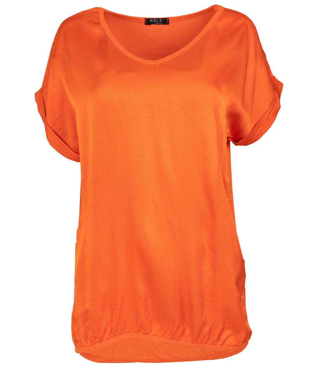 Rebelz Collection Shirt oranje Mia