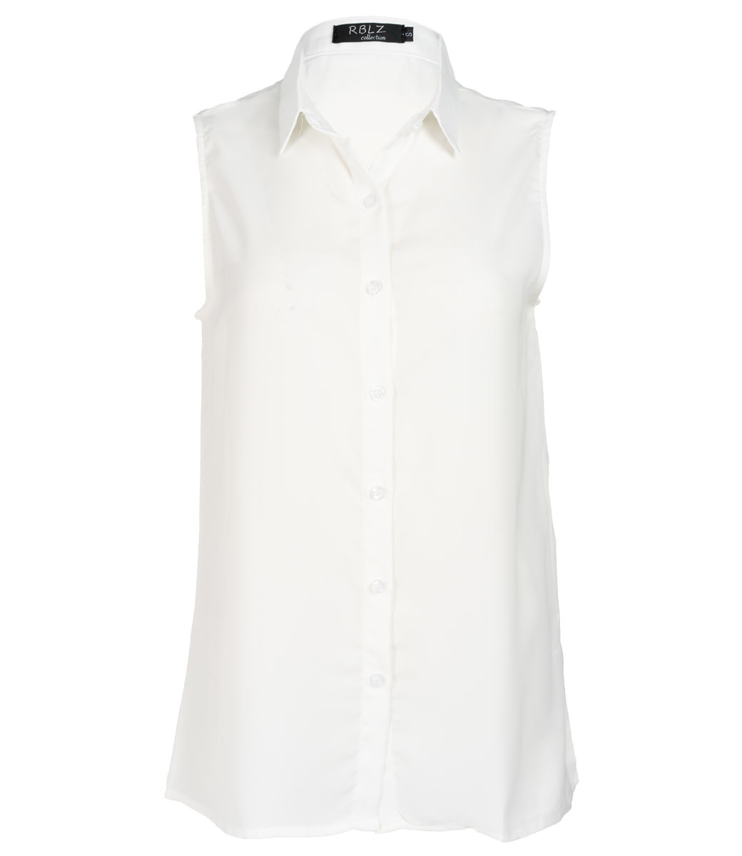 Rebelz Collection Blouse off white Petra