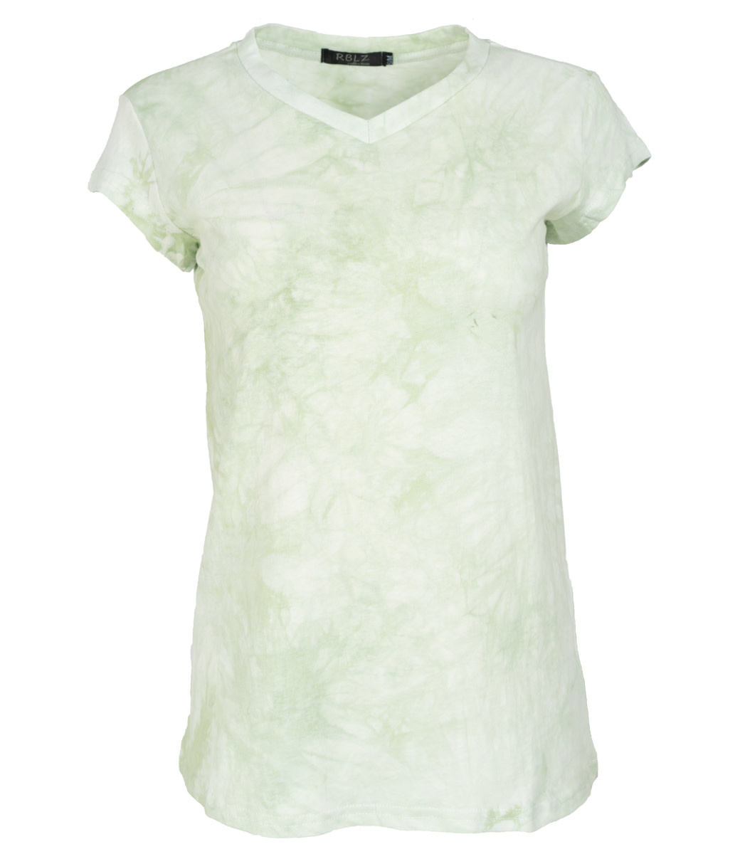 Rebelz Collection Shirt groen Nancy