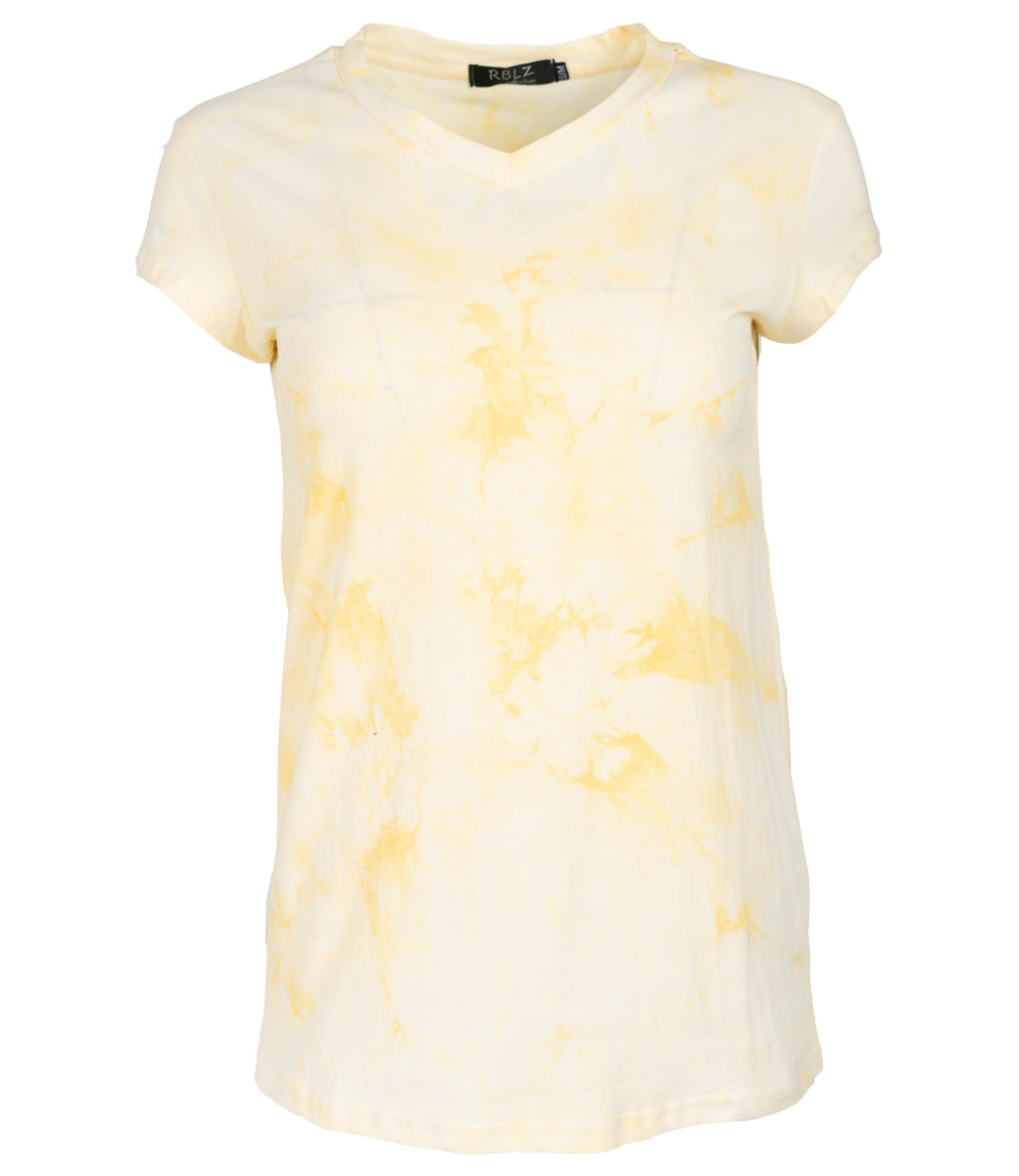 Rebelz Collection Shirt geel Nancy