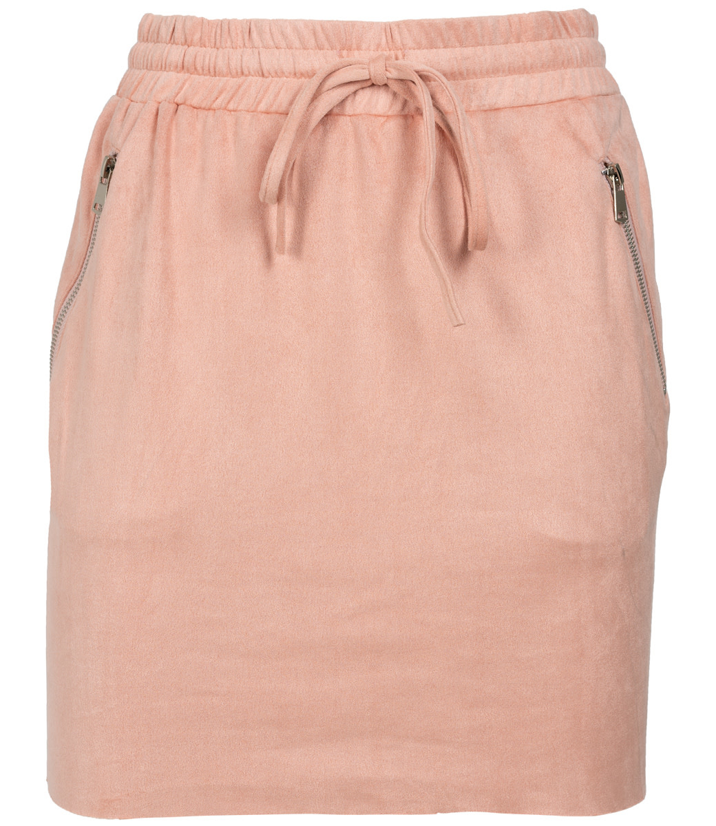 Rebelz Collection Rok suedine roze Tiffy