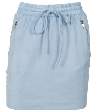 Rebelz Collection Rok suedine blauw Tiffy
