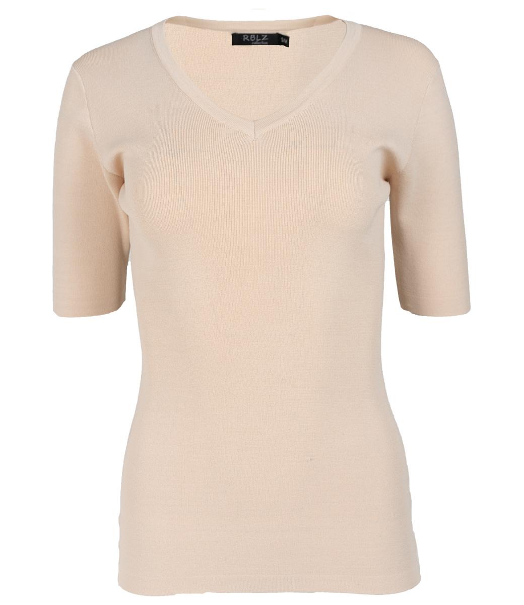 Rebelz Collection Shirt beige Karin