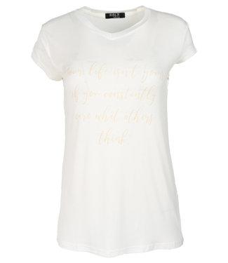 Rebelz Collection Shirt wit/beige Mandy