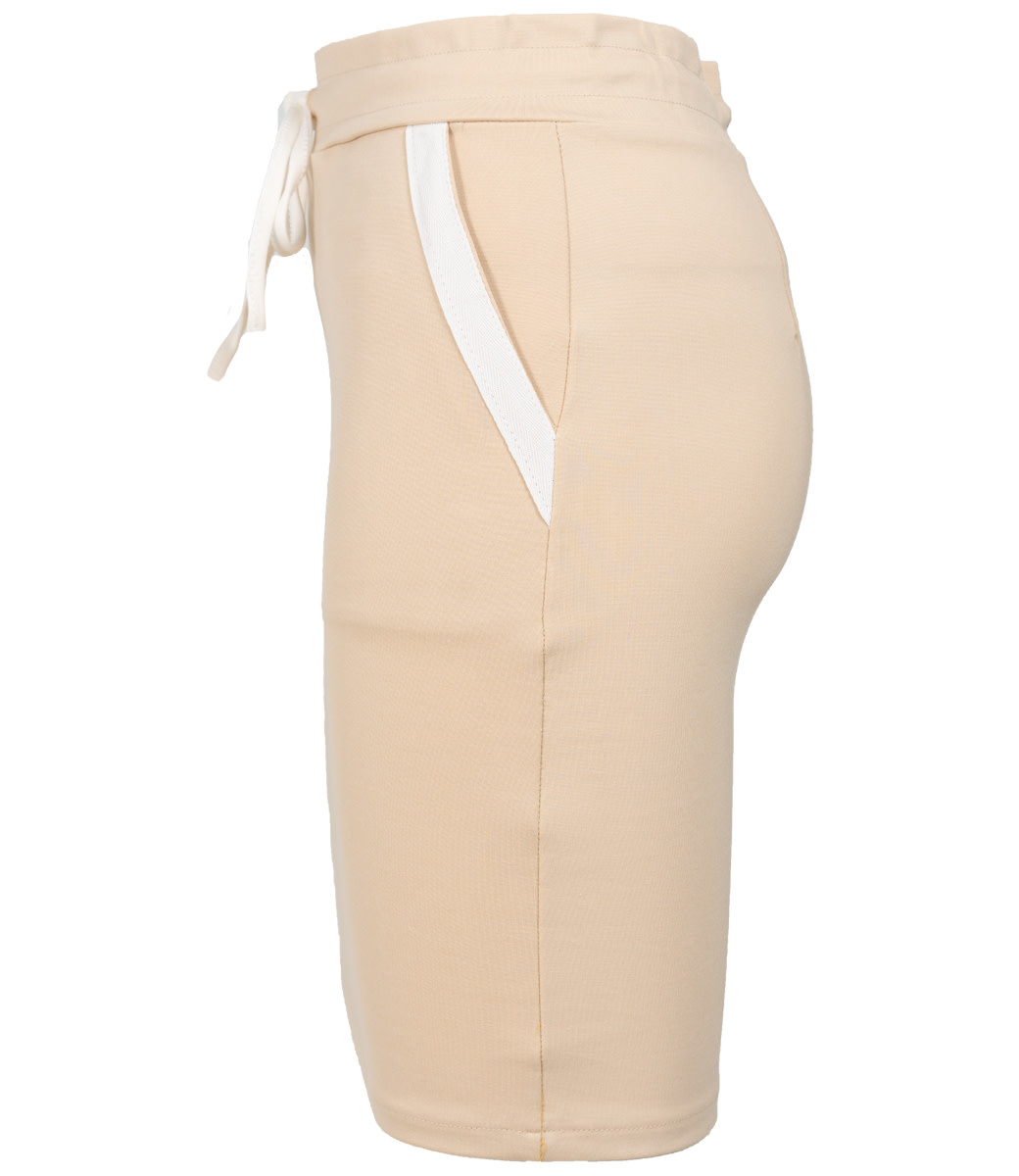 Rebelz Collection Rok beige/wit Mandy
