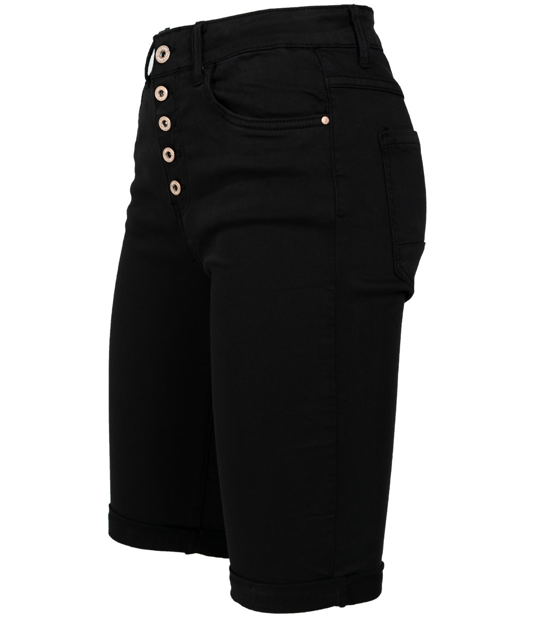 Wannahavesfashion Korte broek zwart Mody