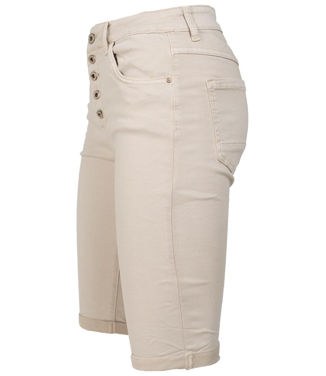 Wannahavesfashion Korte broek beige Mody
