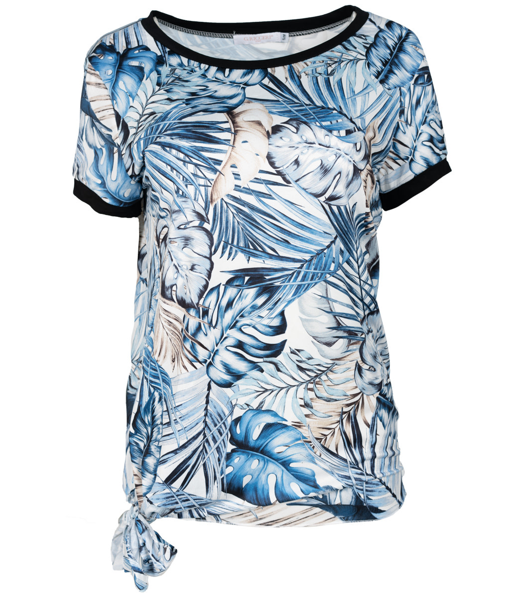 Gemma Ricceri Shirt jeansblauw Saskia