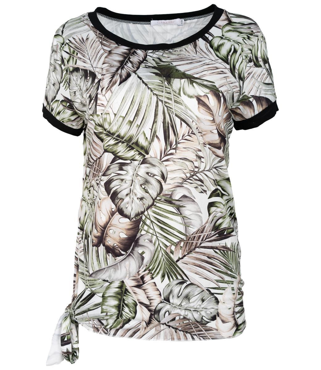 Gemma Ricceri Shirt groen Saskia