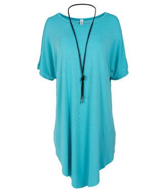 Wannahavesfashion Shirt blauw Katja