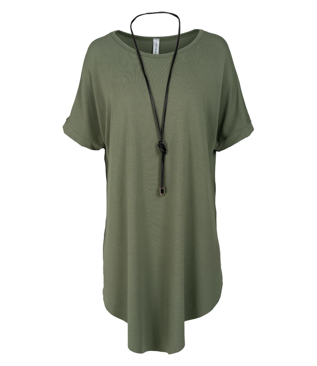 Wannahavesfashion Shirt groen Katja