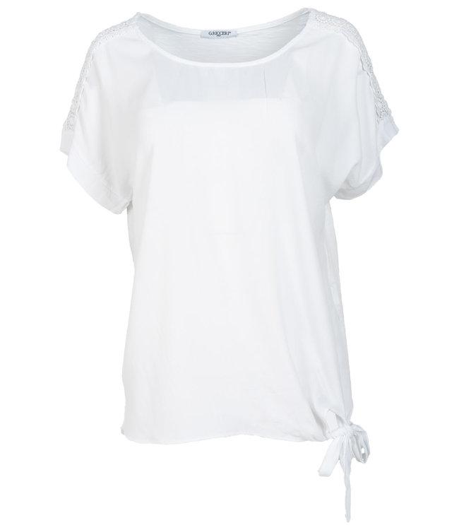 Gemma Ricceri Shirt wit Madelief