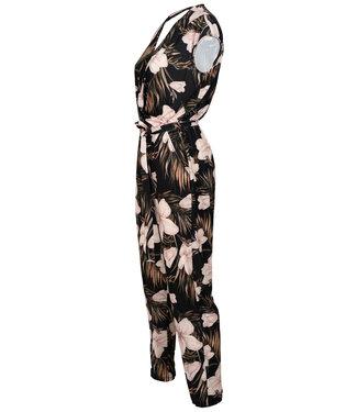 Vera Jo Jumpsuit zwart print Suus