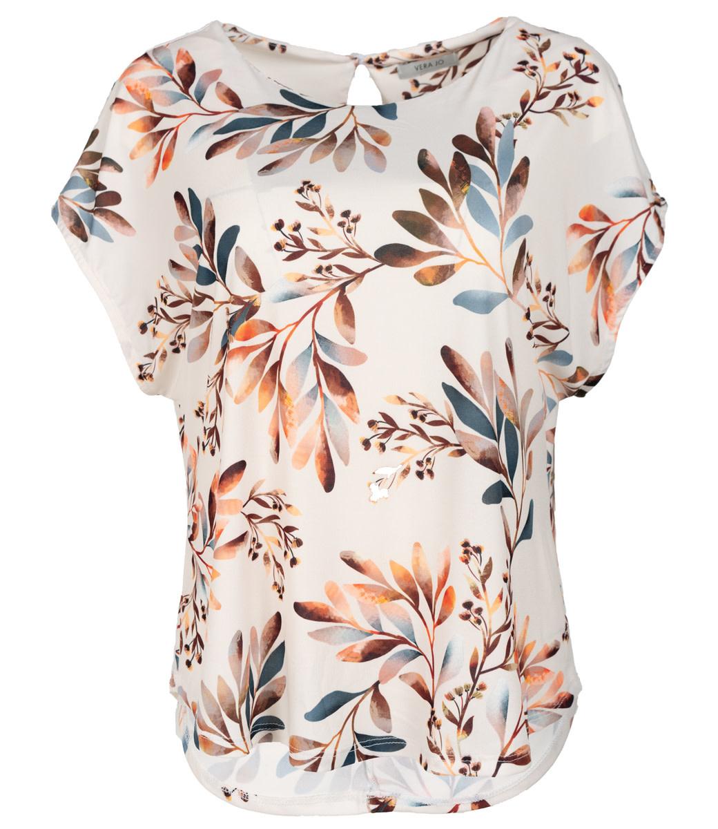 Vera Jo Shirt ecru print Do