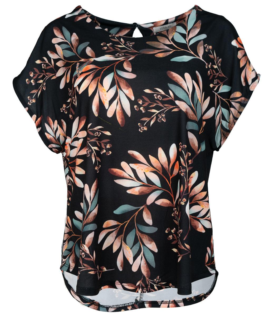Vera Jo Shirt zwart print Do
