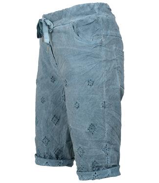Wannahavesfashion Korte broek jeansblauw Vera