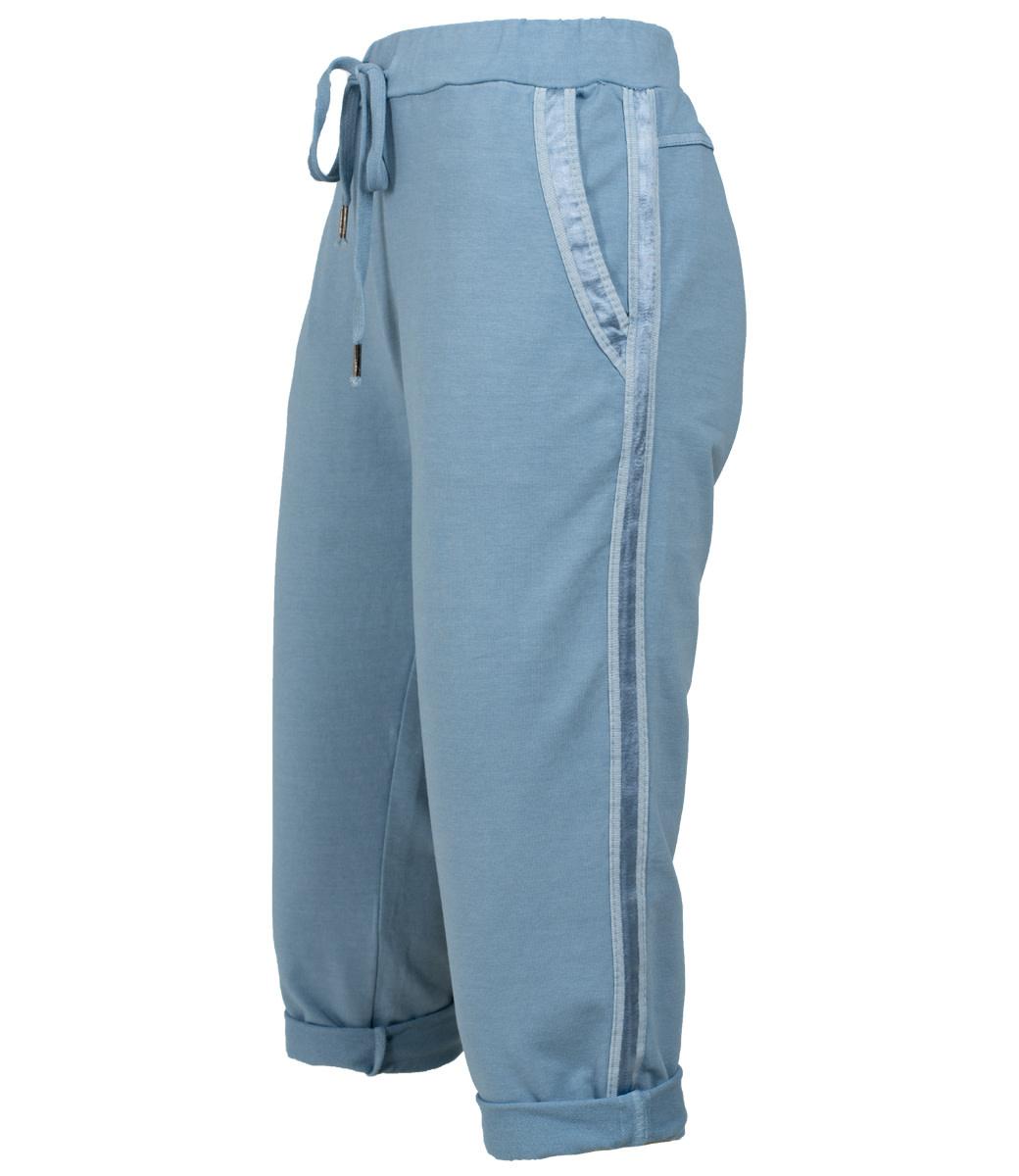 Gemma Ricceri Capri jeansblauw Nienke