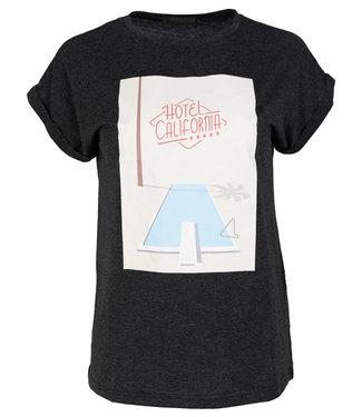 Rebelz Collection Shirt antraciet Californië