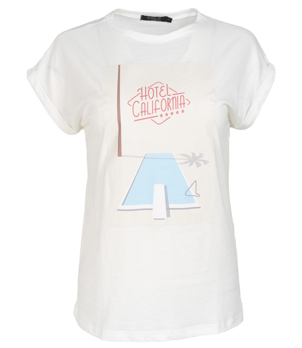 Rebelz Collection Shirt wit Californie